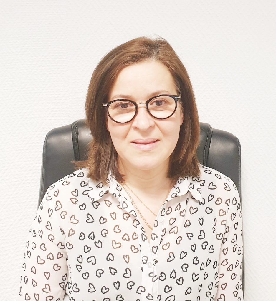 Photo de la vice-présidente Madame Nadia Otmane
